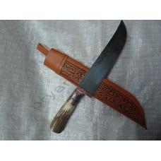 Узбекский нож пчак с ручкой из рога