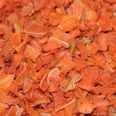 Морковь сушёная измельчённая