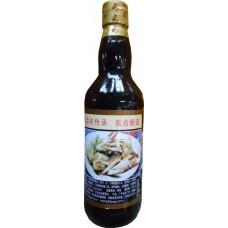 Чёрный соевый соус  для морепродуктов (Тунгу)