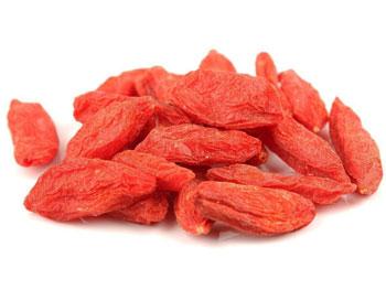 Красные ягоды годжи