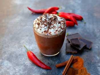 Горячий какао пряный элексир